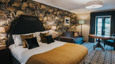 Celebration Package for two overnight stay in a river view room with prosecco and dinner