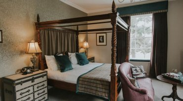 Overnight stay for Two in a river view room with Dinner, Bed and Breakfast